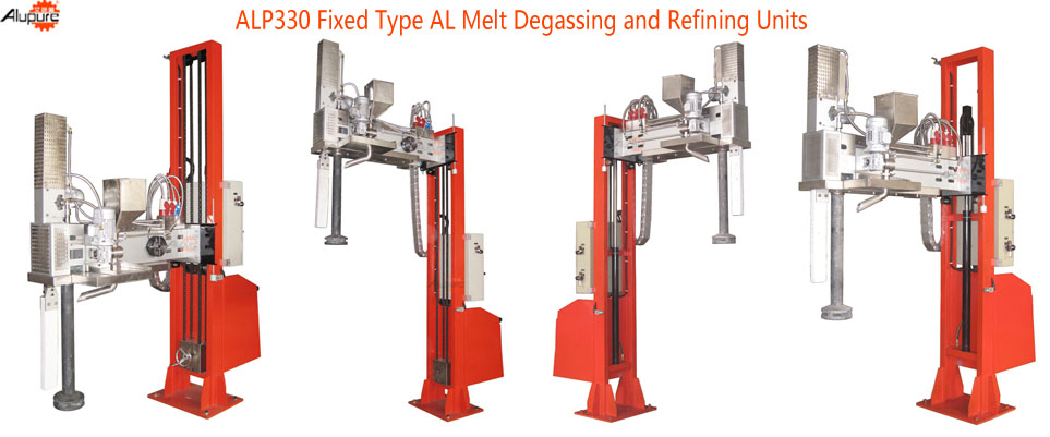 ALP330 Fixed Degassing & Refining Device