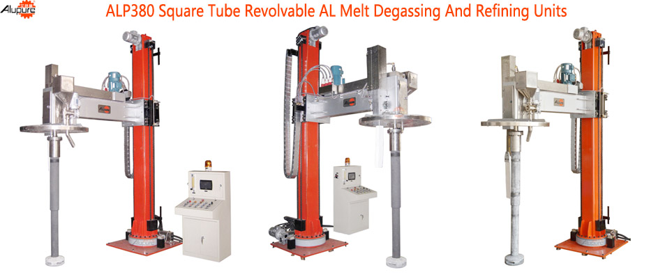 ALP380 Giant Turntable Degassing and Refining Device